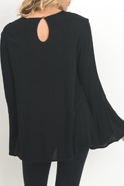Jodifl Lace-Up V-Neck Top - Front full body