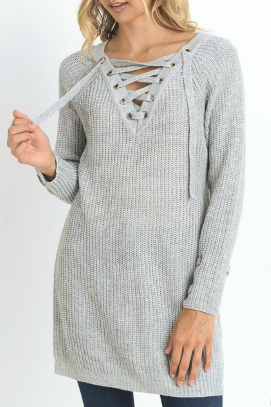 Jodifl Laced Up Tunic - Main Image
