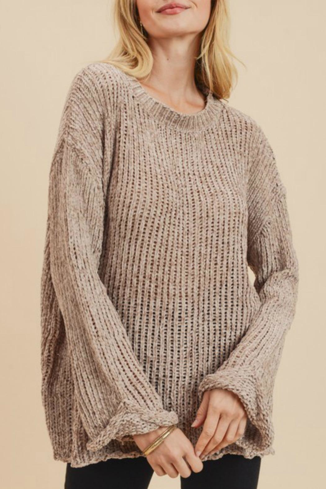 Jodifl Leia Chenille Sweater - Front Cropped Image