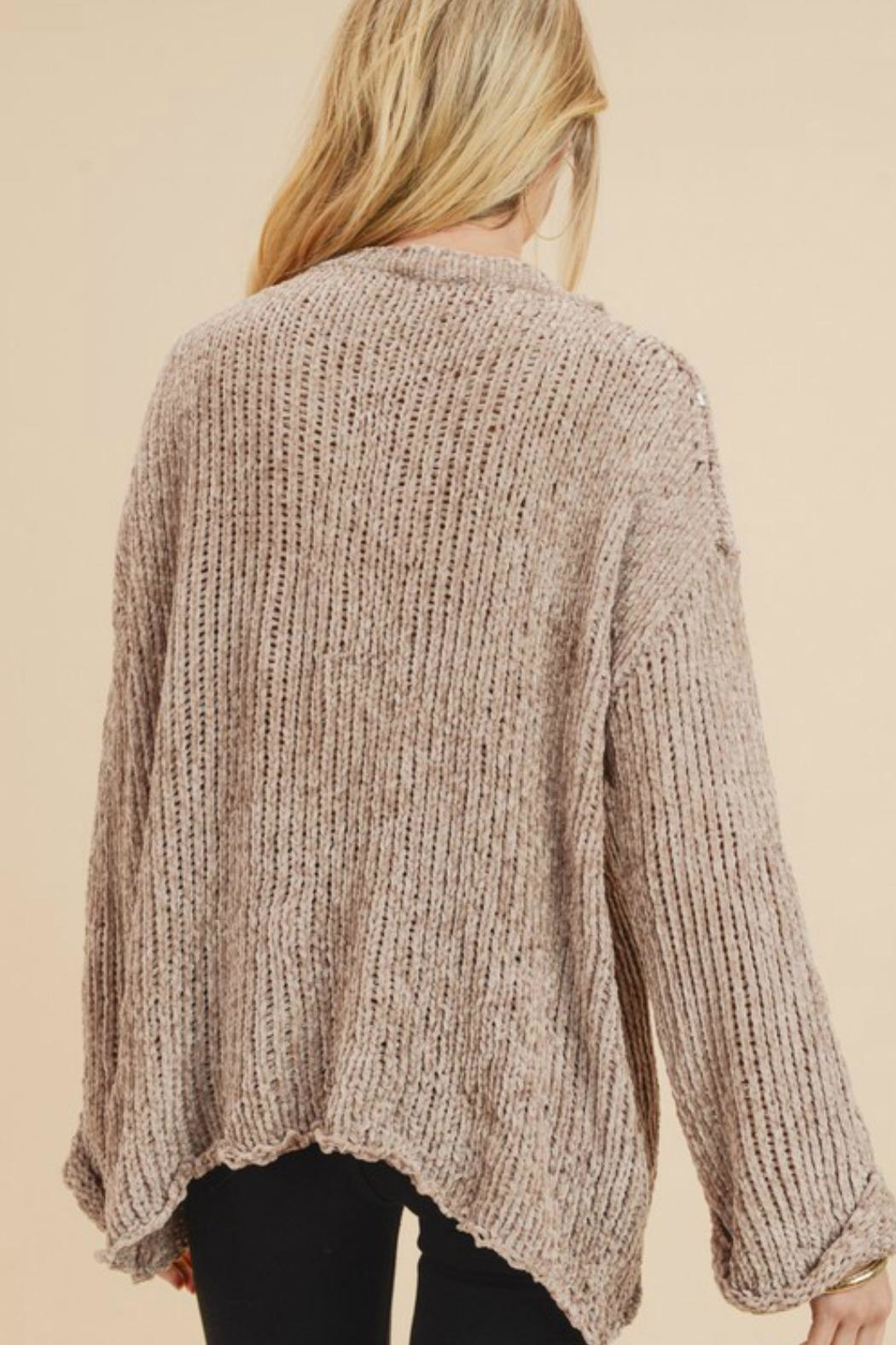Jodifl Leia Chenille Sweater - Side Cropped Image