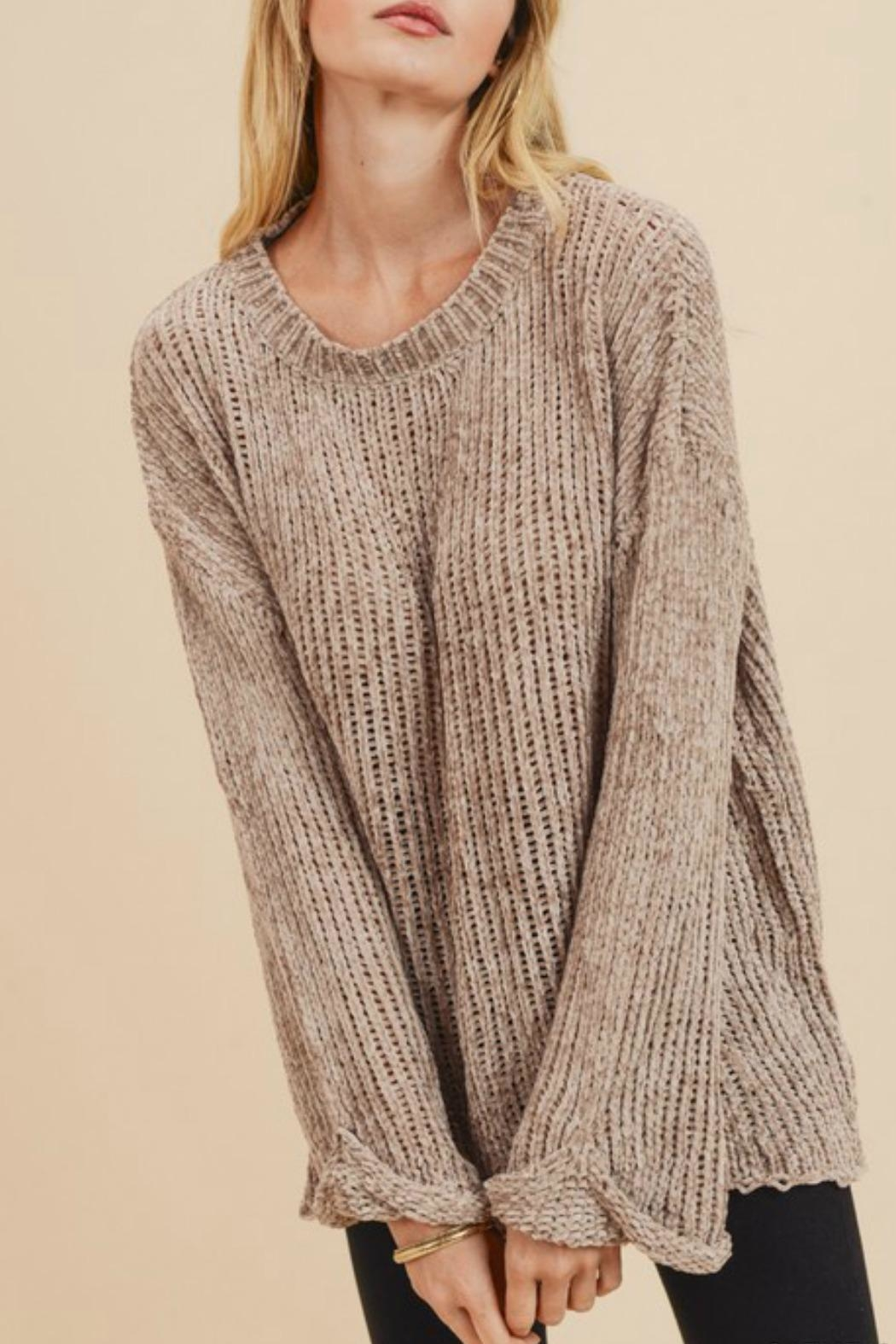 Jodifl Leia Chenille Sweater - Front Full Image