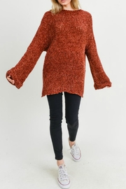 Jodifl Leia Chenille Sweater - Front cropped