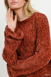 Jodifl Leia Chenille Sweater - Side cropped