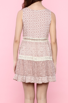 Jodifl Mauve Dress With Lace Trim - Alternate List Image