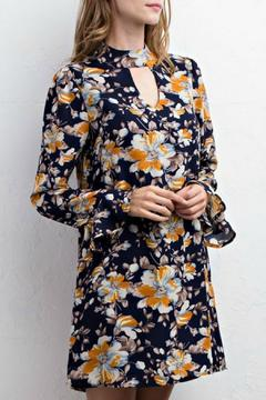 Shoptiques Product: Midnight Floral Dress