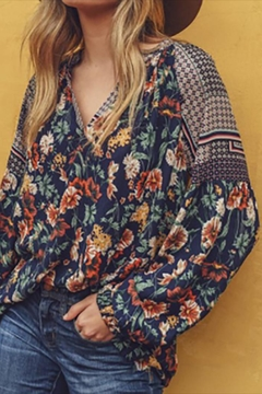 Jodifl Mixed Floral Top - Product List Image