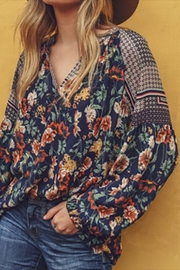 Jodifl Mixed Floral Top - Front cropped