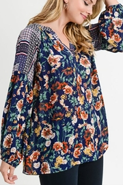 Jodifl Mixed Floral Top - Side cropped