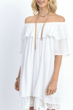Shoptiques Product: On/off Shoulder Dress