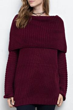 Shoptiques Product: Oversized Long Sleeve Sweater