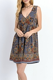 Jodifl Paisley Jumper Dress - Front cropped