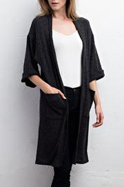 Jodifl Ribbed Cardigan - Front full body