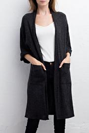 Jodifl Ribbed Cardigan - Front cropped