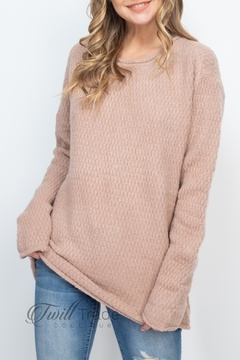 Jodifl Rose Taupe Sweater - Product List Image