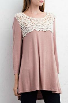 Shoptiques Product: Rose Taupe Tunic