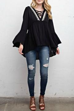 Shoptiques Product: Jessica Bell Sleeve Top
