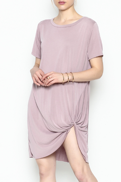 Shoptiques Product: Short Sleeve Knot Dress