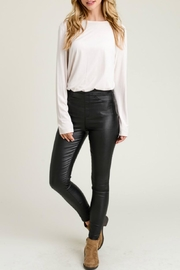 Jodifl Skinny Faux-Leather Leggings - Front cropped