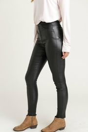 Jodifl Skinny Faux-Leather Leggings - Side cropped