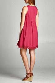 Jodifl Crimson Embroidery Dress - Other