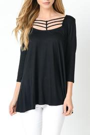 Jodifl Strappy Neck Top - Product Mini Image
