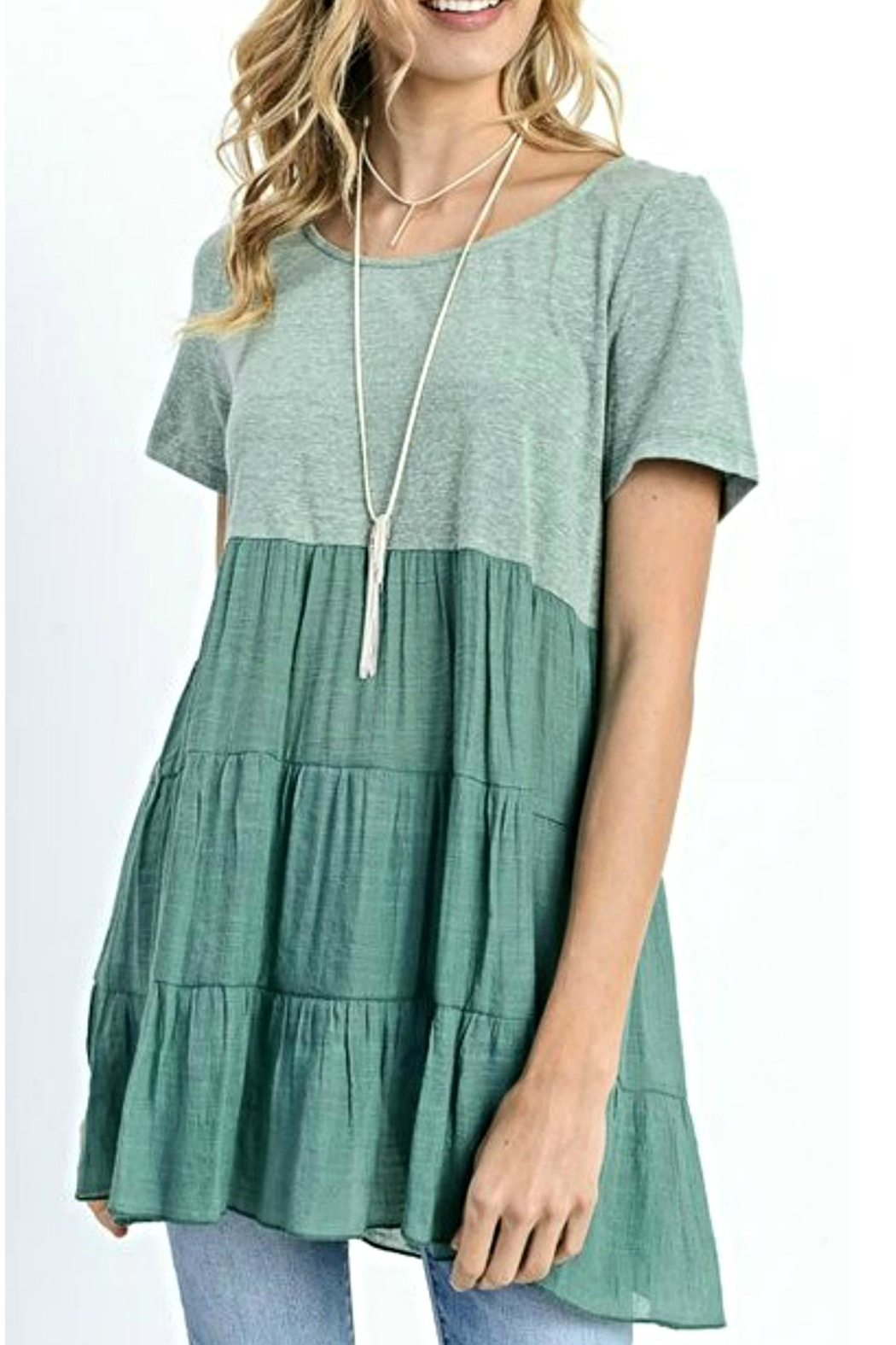 Jodifl Tee Shirt Tunic - Front Cropped Image