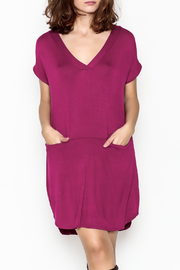 Jodifl V Neck Pocket Dress - Product Mini Image