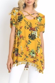 Jodifl Yellow Mix Top - Product Mini Image