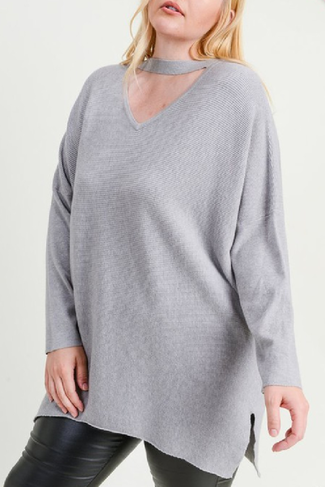 JODIFIL Veronica Sweater Curvy - Front Cropped Image