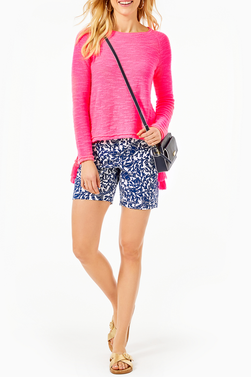 Lilly Pulitzer Jody Sweater - Side Cropped Image