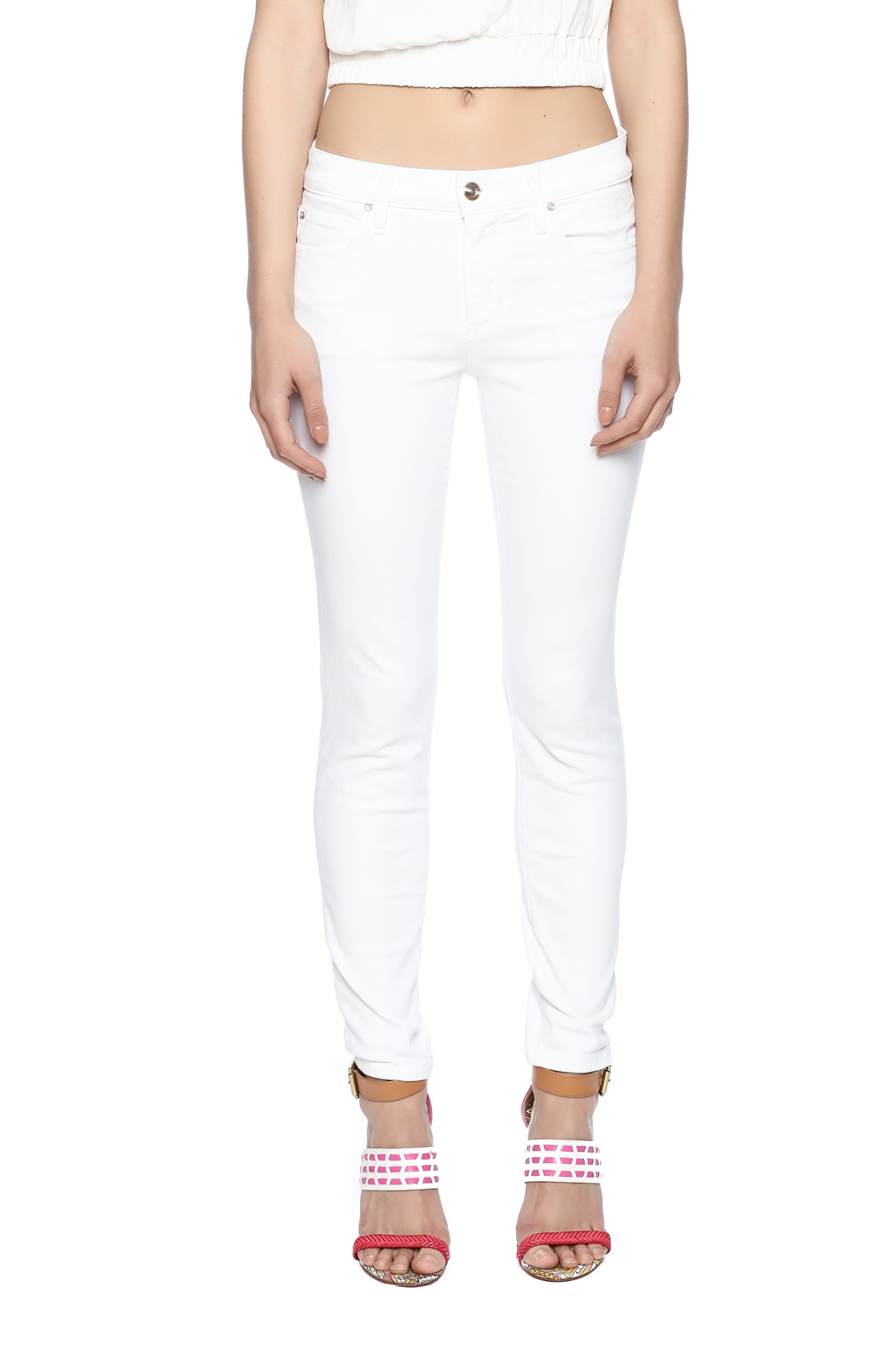 Joe's Jeans #Hello Icon Skinny Ankle - Side Cropped Image