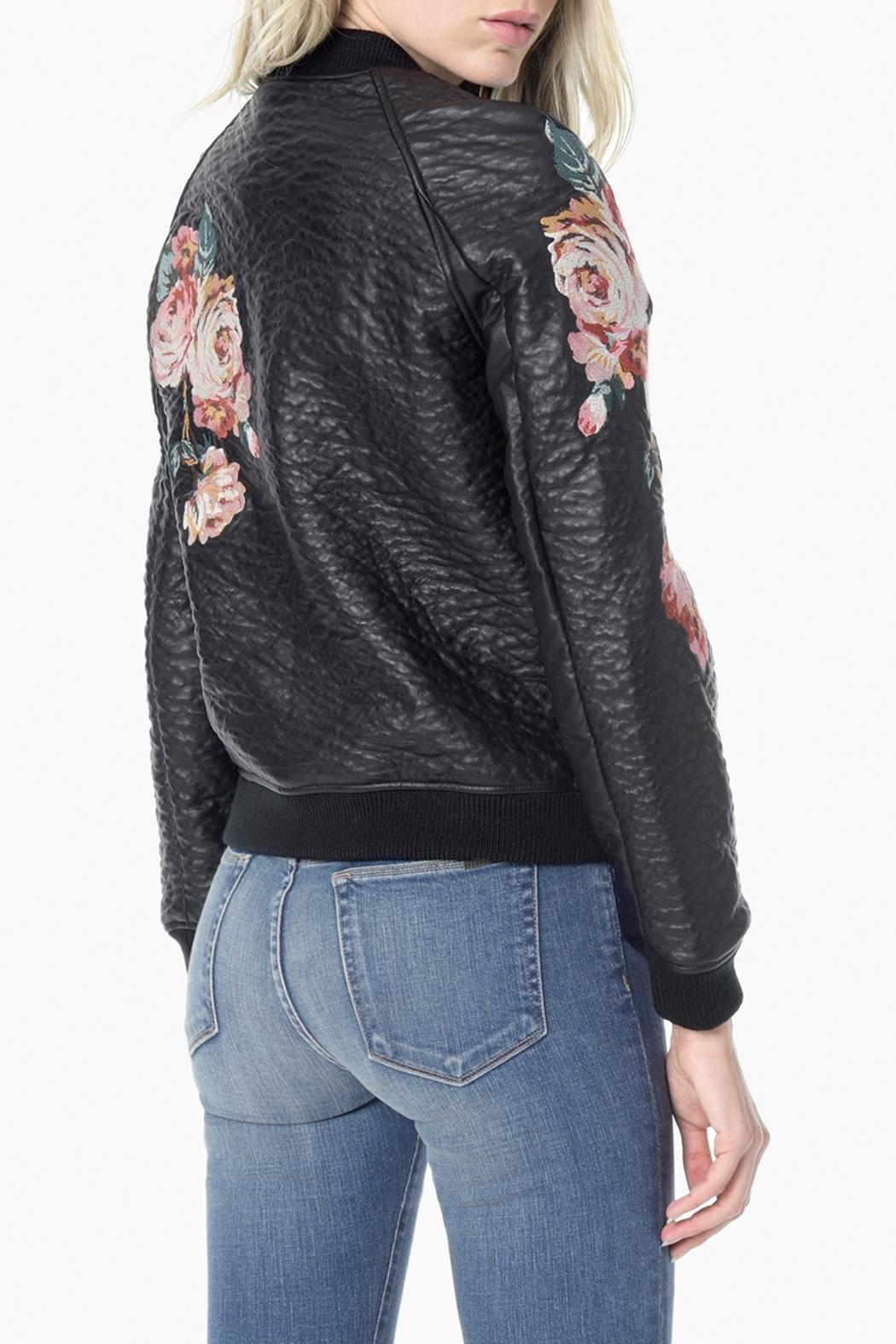 Joe's Jeans Embroidered Bomber Jacket - Side Cropped Image