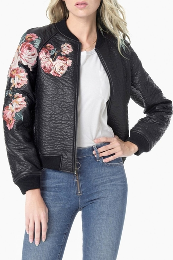 12f52c463 Umgee Usa Floral Bomber Jacket From Canada By Cuzinz Shoptiques ...