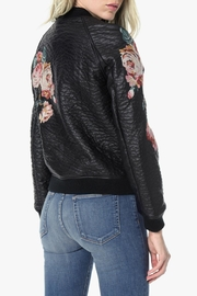 Joe's Jeans Embroidered Bomber Jacket - Side cropped