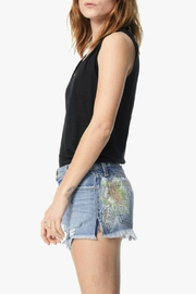 Joe's Jeans Embroidered Cut Off Shorts - Front full body
