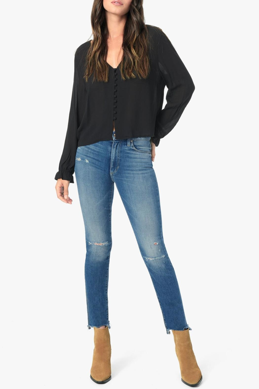 Joe's Jeans Milla Straight Leg - Front Cropped Image