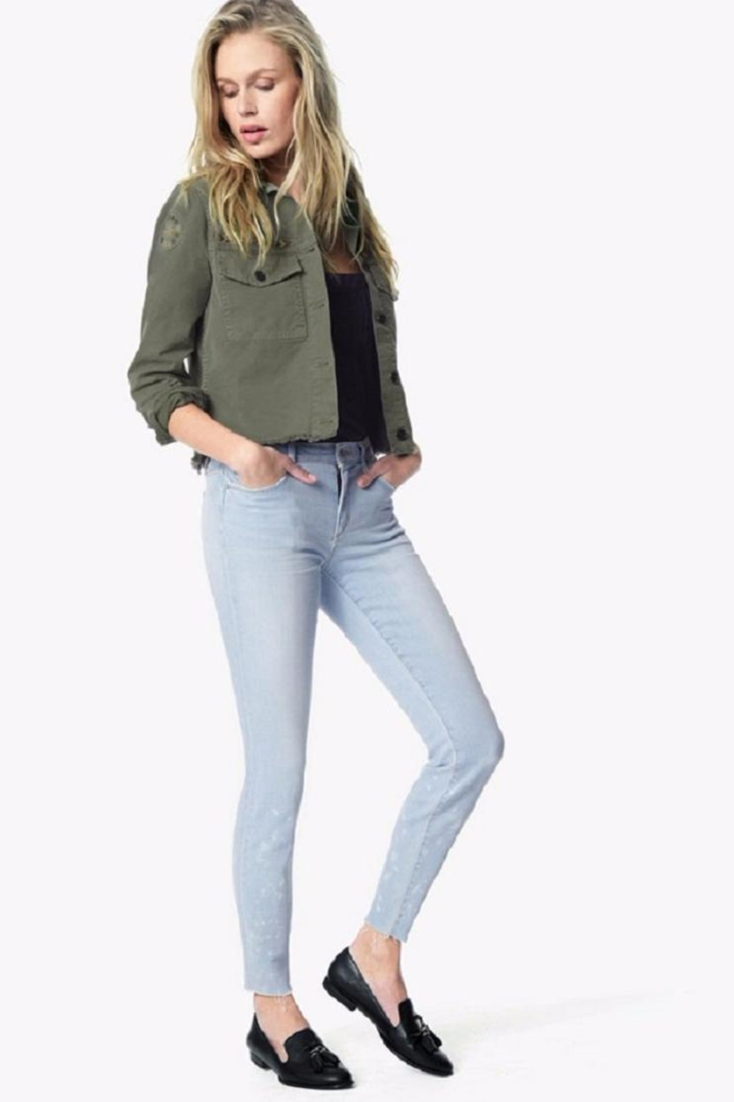 Joe's Jeans Skinny Ankle Jean - Front Cropped Image