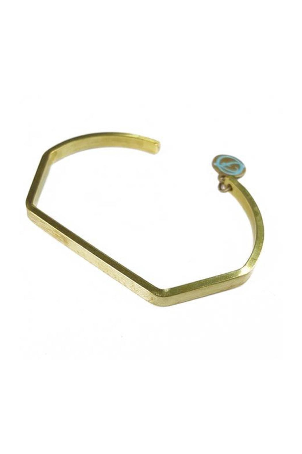 2ca1c227ae Fabulina Designs Joey Brass Bangle from Florida by Dressing Room ...