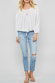 Promesa USA Joey Striped Top - Product Mini Image