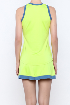 Jofit Neon Tennis Tank - Alternate List Image