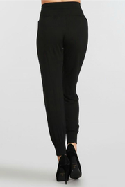 M.Rena Jogger pant with cuff rib - Front full body
