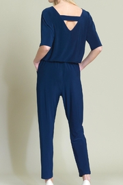 Clara Sunwoo Jogger Pocket Jumpsuit - Front full body