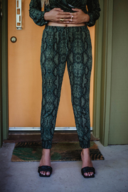 Veronica M Jogger with Tie - Product Mini Image