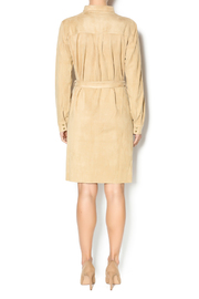 Joh Apparel Faux Suede Shirtdress - Side cropped