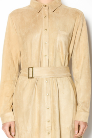 Joh Apparel Faux Suede Shirtdress - Other