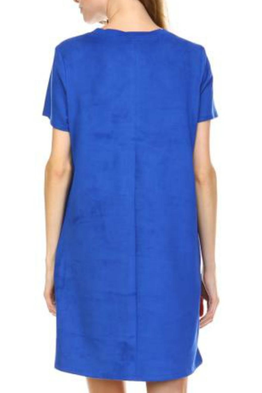 JOH Audrey Faux-Suede Dress - Side Cropped Image