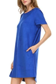 JOH Audrey Faux-Suede Dress - Front full body
