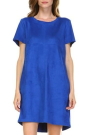 JOH Audrey Faux-Suede Dress - Product Mini Image