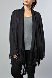 JOH Faux Suede Cardigan - Product Mini Image