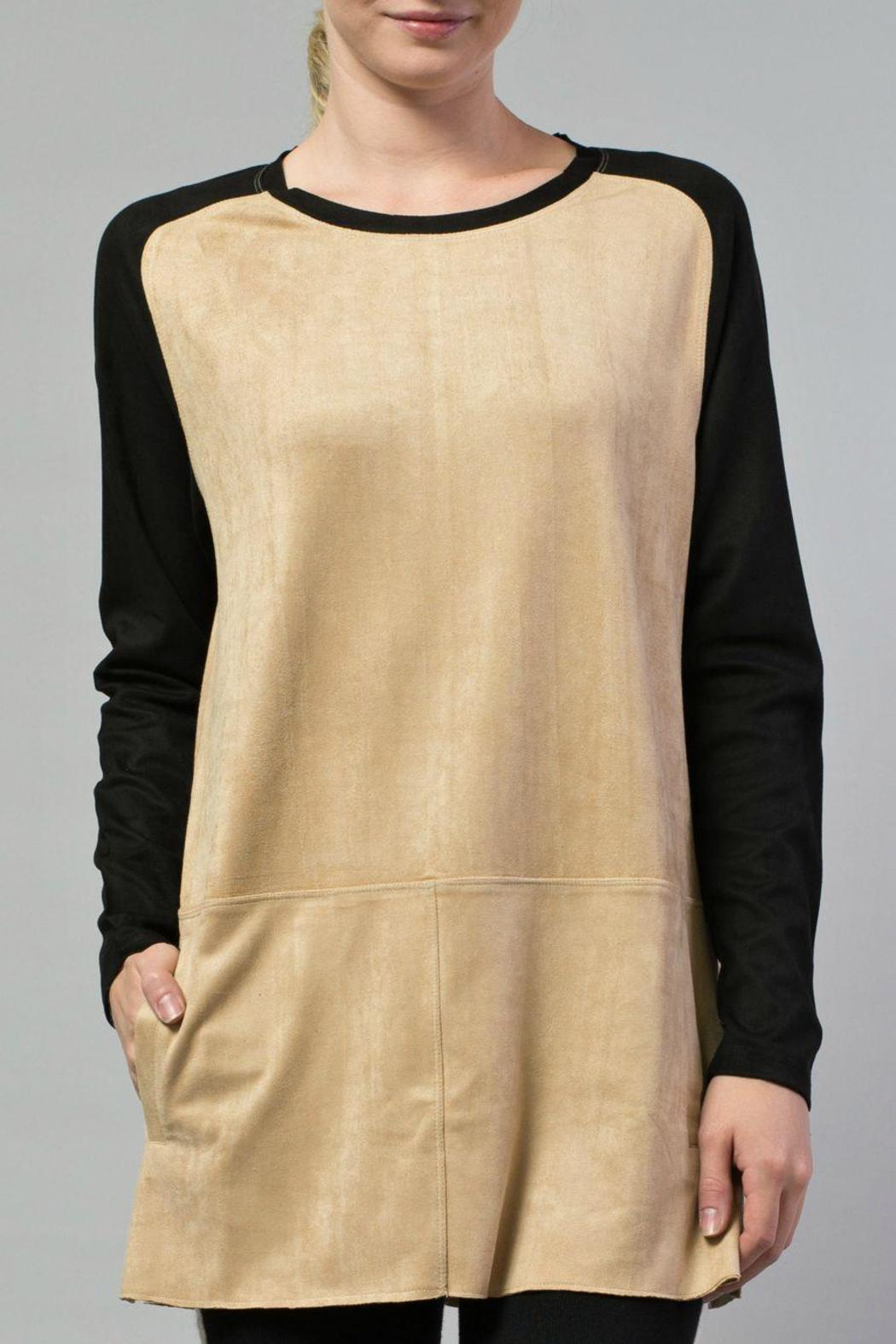 JOH Faux Suede Tunic - Main Image